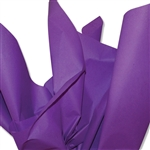 Zippy Grape Purple Colored Tissue Paper