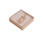 "Clear Top Jewelry Boxes 3-1/2"" x 3-1/2"" x 7/8"""