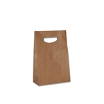 Die Cut Handle Stylin' Bags in Kraft