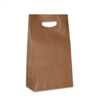 Die Cut Handle Stylin' Bags in Natural Kraft
