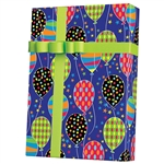 Shamrock Party Balloons Birthday Gift Wrap E6287