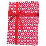 Shamrock Heart Lattice Gift Wrap