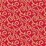 Jeweler Gift Wrap Scrolled Hearts Pattern E-4074