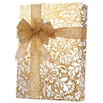 Damask Blooms wedding gift wrap