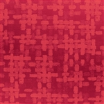 Jeweler Gift Wrap Embossed Red Spun Metallic Pattern E-9523