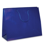Royal Medium Eurotote Bags-Gloss Laminated
