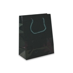 Hunter Green Petite Eurotote Bags-Gloss Laminated