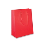 Red Petite Eurotote Bags-Gloss Laminated