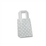 Frosted Petite Reusable White Dots Bags