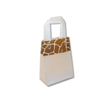 Frosted Petite Reusable Giraffe Trim Bags