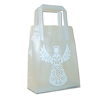 Frosted Petite Reusable Angel White Bags