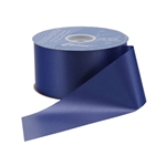 Navy Blue Flora-Satin® Ribbon - 2 widths