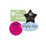 Custom Ink Printed Labels-Small Shapes