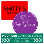 Custom Ink Printed Labels-Large Shapes