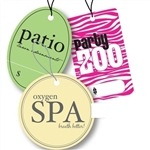 Custom Ink Printed Tags - Medium/Large Shapes