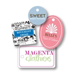 Custom Ink Printed Tags - Small/Medium Shapes