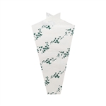 Wholesale Ivy on White Design Plant Sleeves