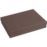 "Brown Jewelry Boxes 7"" x 5"" x 1-1/4"""
