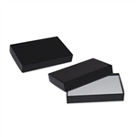 2 piece Black gift card boxes with inserts