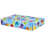 Large Birthday Balloons Patterned Shipping Boxes - 48 Pack