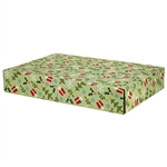 Large Holiday Presents Patterned Shipping Boxes - 48 Pack