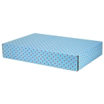 Large Lil Stockings Patterned Shipping Boxes - 48 Pack