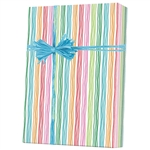 Shamrock Stringy Stripes Gift Wrap M4262