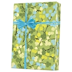 Shamrock Gift Wrap Berry Branches M-6314