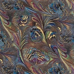 Jeweler Gift Wrap Marbled Feathers Pattern M-7099