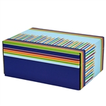 Medium Birthday Candles Patterned Shipping Boxes - 12 Pack