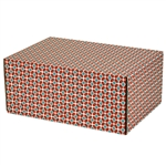 Medium Moderno Patterned Shipping Boxes - 12 Pack