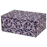 Medium Acanthus Patterned Shipping Boxes - 6 Pack