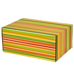 Medium Sunstripe Patterned Shipping Boxes - 6 Pack