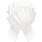 Flora-Satin Perfect Bows -  White