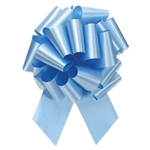Flora-Satin Perfect Bows  -  Light Blue