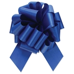 Flora-Satin Perfect Bows  -  Royal Blue