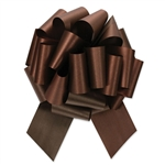 Flora-Satin Perfect Bows  -  Chocolate