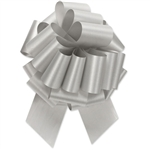 Flora-Satin Perfect Bows  -  Silver