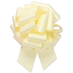 Flora-Satin Perfect Bows  -  Eggshell