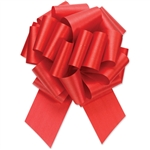 Flora-Satin Perfect Bows -  Imperial Red