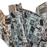 Black & White Presents Patterned Tissue Paper