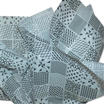 Mixed Geometric Patterned Tissue Paper - 240 Sheets
