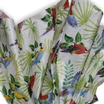 Rainforest Parrots Patterned Tissue Paper