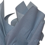 Mini Blue & White Gingham Tissue Paper