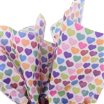 All Hearts Patterned Tissue Paper