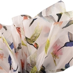 Hummingbirds Patterned Tissue Paper