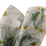 Daisy Field Patterned Tissue Paper