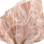 Marble Rose Gold Patterned Tissue Paper