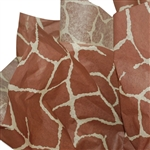 Giraffe Patterned Tissue Paper