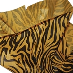 Tiger Patterned Tissue Paper